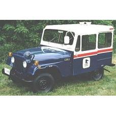 1955-65 Jeep Willys DJ3A, Surrey, FJ3, Fleetvan Postal Jeep 2WD front disc conversion