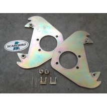 1948-54 Hudson Hornet, Super, Commodore (ex. Jet) front disc conversion