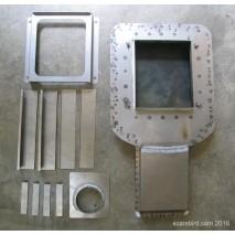 1970-81 Pontiac Trans Am LS3 conversion hood scoop air cleaner base