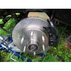 1963 Chevrolet GMC 2WD 1/2 ton truck front disc