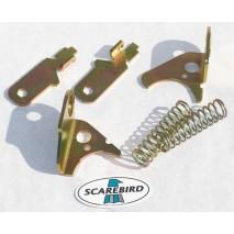 1979-81 Trans Am rear caliper emergency brake levers, brackets, springs