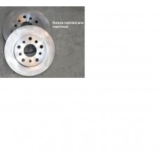 "1960-72 Mopar 9 and 10 ""A"" body predrilled 5 on 4"" rotors"